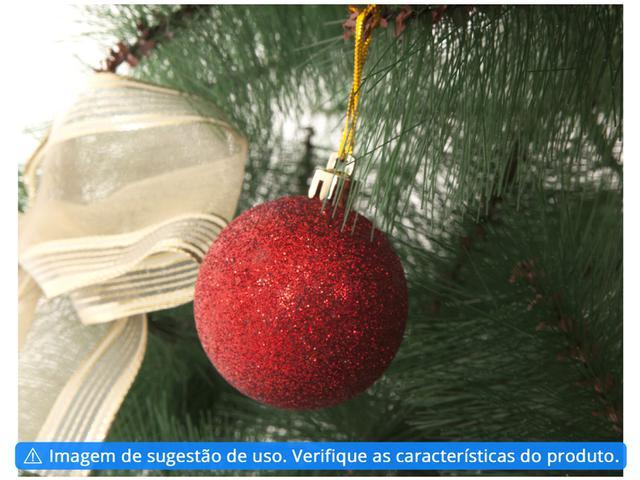 Imagem de Kit Bola de Natal Vermelha Lisa NATAL034M