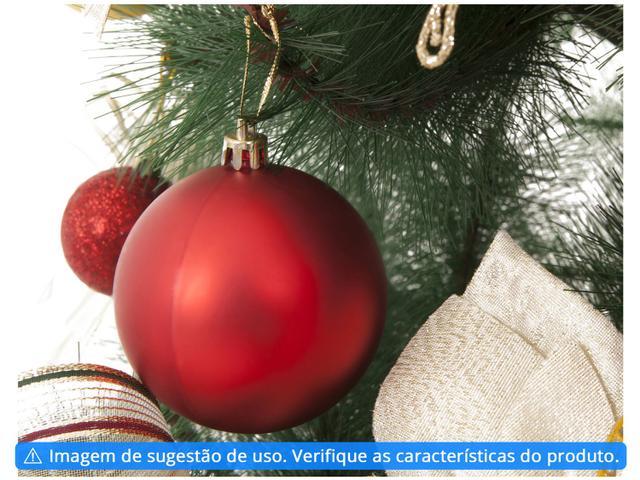 Imagem de Kit Bola de Natal Vermelha NATAL070 Casambiente