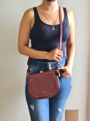 Imagem de Kit Bolsa Feminina Mão e Transversal Pequena + Carteira Golden Fenix