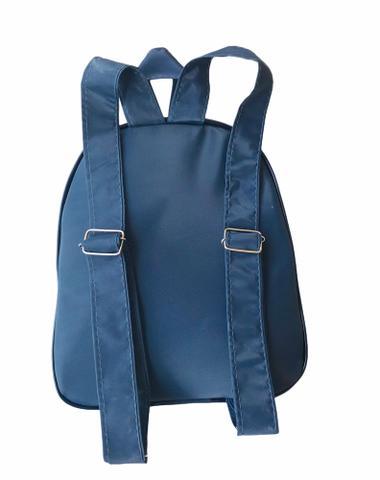 Imagem de Kit Bolsa Maternidade 5 Peças Completo Listrado Com Saída Maternidade Azul Marinho