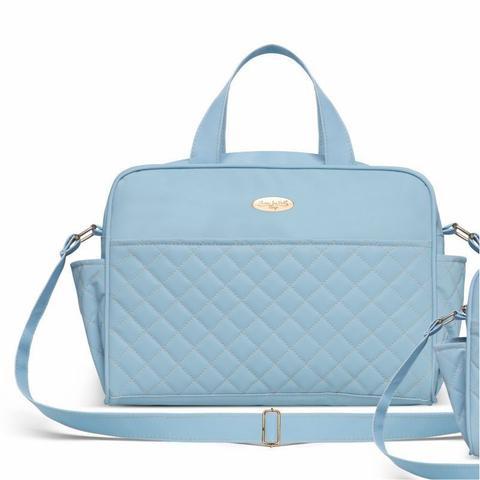 Imagem de Kit Bolsa Maternidade Dara Baby Izmir Azul - Classic For Baby Bags