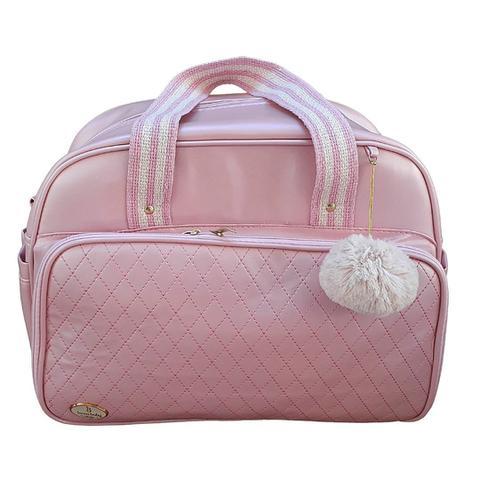 Imagem de Kit Bolsa Maternidade Rosa Bebê Premium 4P IB