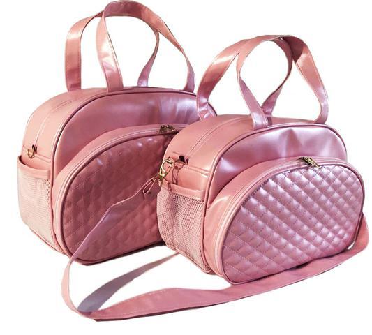 Imagem de Kit Bolsa Maternidade rosa luk