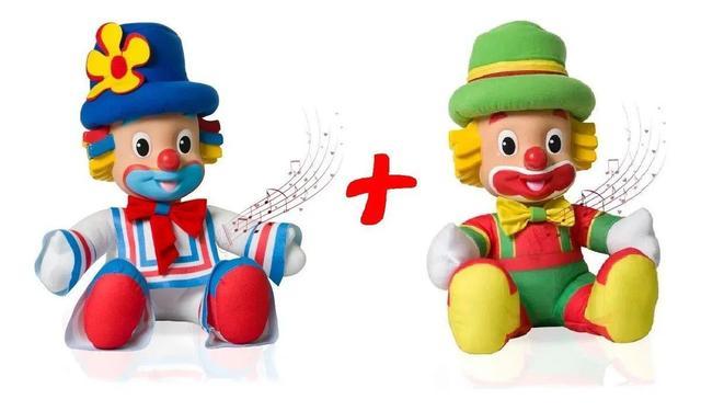 Imagem de KIT Bonecos Patati e Patata - 37 cm Musical C/Som - Baby Brink