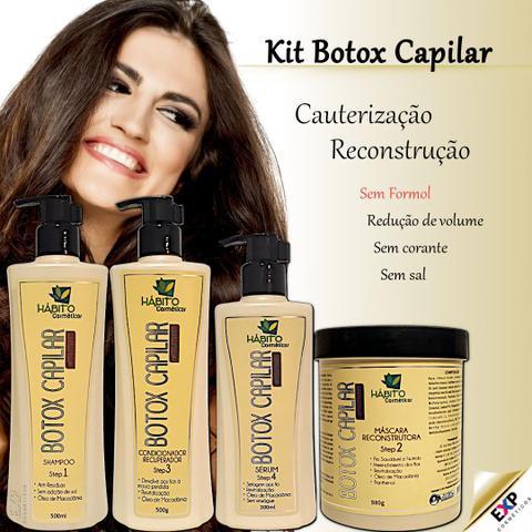 Imagem de Kit Botox Capilar Orgânico Reconstrução e Cauterização Profissional