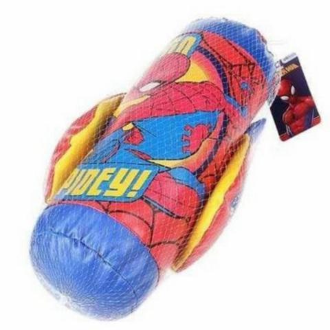 Imagem de Kit Boxe luva e saco de pancadas Homem aranha Infantil