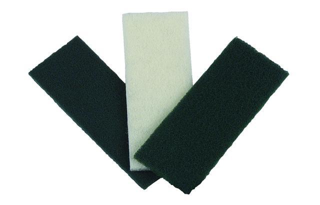 Imagem de Kit c/10 Fibras de Limpeza Pesada 100 x 260mm F1P262 - Bralimpia