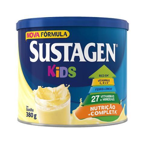 Imagem de Kit c/ 12 Sustagen Kids 380g Baunilha