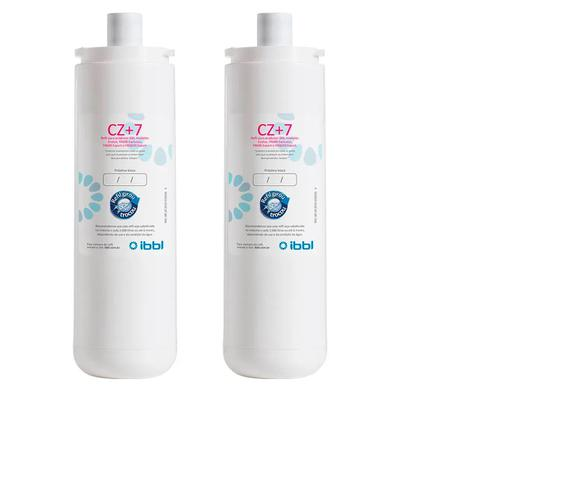 Imagem de Kit c/ 2 filtro refil cz+7 original para purificador ibbl ( fr600 - atlantis - evolux )