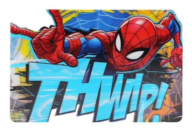 Imagem de Kit c/ 2 Jogo Americano p/ Mesa Spiderman Marvel Homem Aranha - 133882