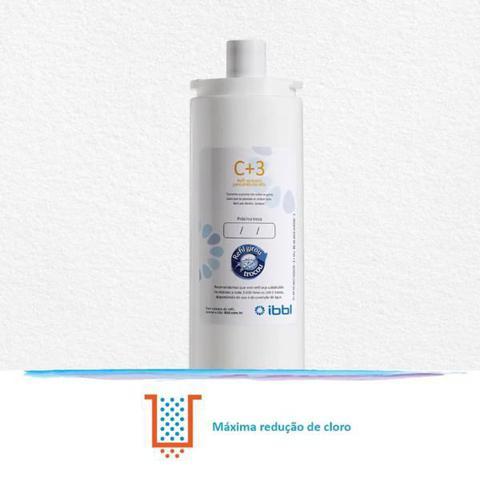 Imagem de Kit c/ 2 refil girou trocou c+3  filtro purificador de agua bacteriologico ibbl  (original)