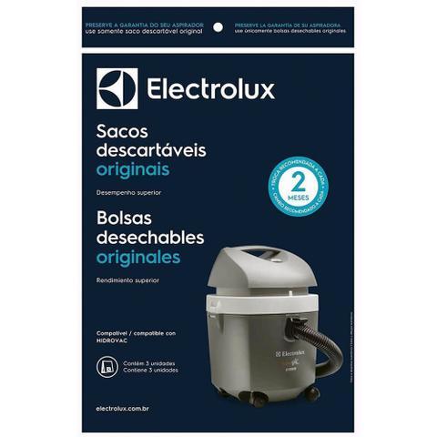 Imagem de Kit c 3 Sacos descartáveis p Aspirador Hidrovac CSEHV Electrolux