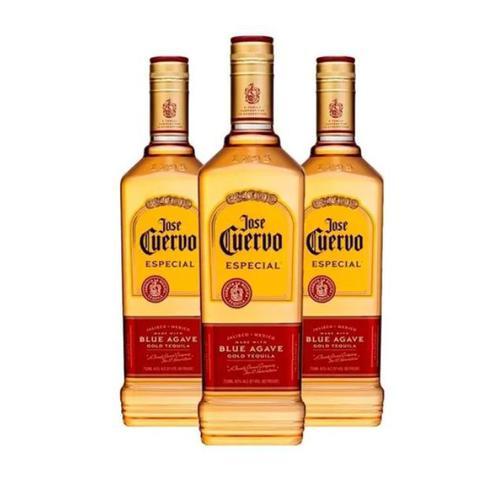 Imagem de Kit C/ 3 Tequila Mexicana Especial Jose Cuervo - 750ml