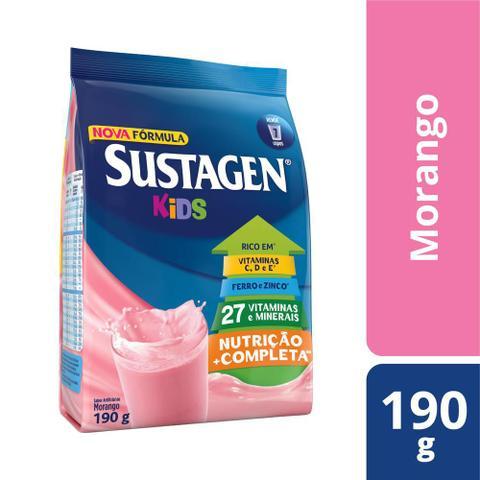 Imagem de Kit c/ 6 Sustagen Kids Morango 190g
