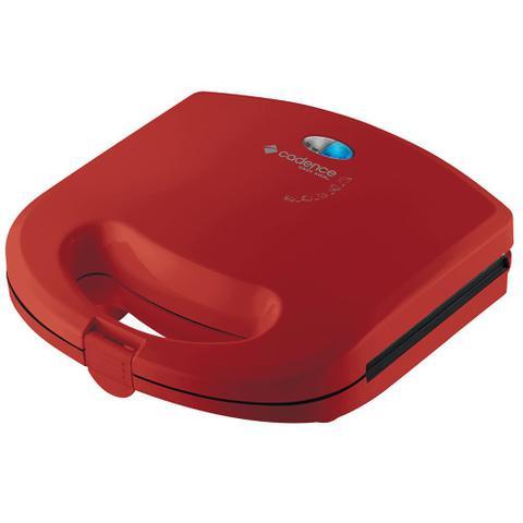 Imagem de Kit Cadence Colors Vermelho e Branco Cook Fryer e Creps