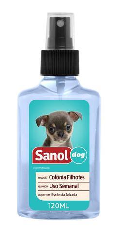 Imagem de Kit Cães Filhotes Sanol: Shampoo Para cachorro Filhote + Perfume Colonia para Filhote