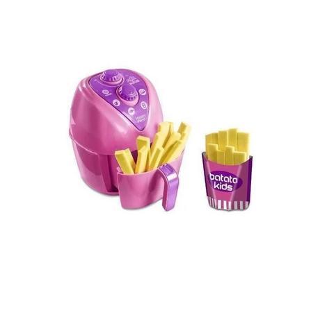 Imagem de Kit Cafeteira Kids Mini + Panelinha Air Fryer  Menina Brinquedos