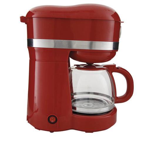 Imagem de Kit Cafeteira Philco Retrô PCF38 Vermelha 110V + Fritadeira Elétrica Sem Óleo/Air Fryer Philco - Digital Preta e Cinza 3,2L com Timer 110V
