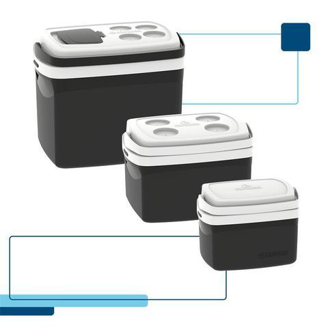 Imagem de Kit caixa térmica 32 + 12 + 5 litros soprano preto