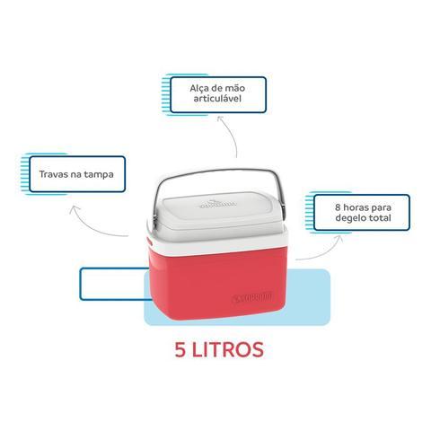 Imagem de Kit caixa térmica 32 + 12 + 5 litros soprano vermelho