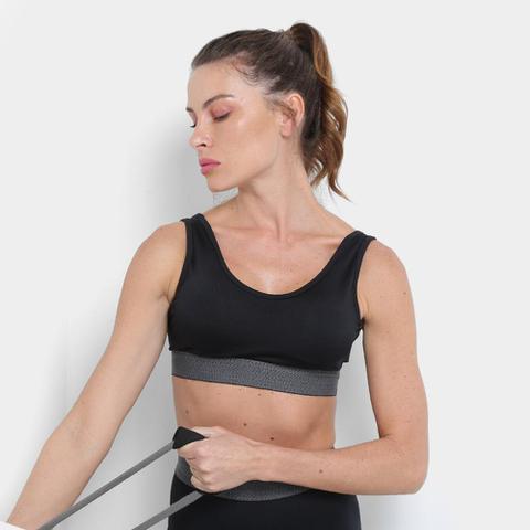 Imagem de Kit Calça Legging Gonew Basic Workout Feminina + Top Gonew Basic Workout