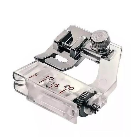 Imagem de Kit Calcadores Overlock + Bainhas 10mm 19mm 25mm + Franzidor