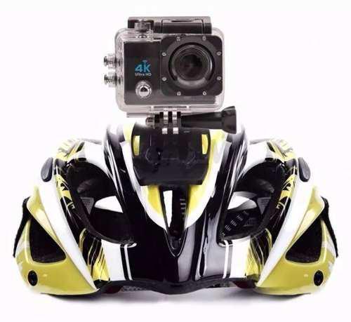 Imagem de Kit Câmera Filmadora 4k Action + Cartão 32gb C10 + 1 Bateria Extra
