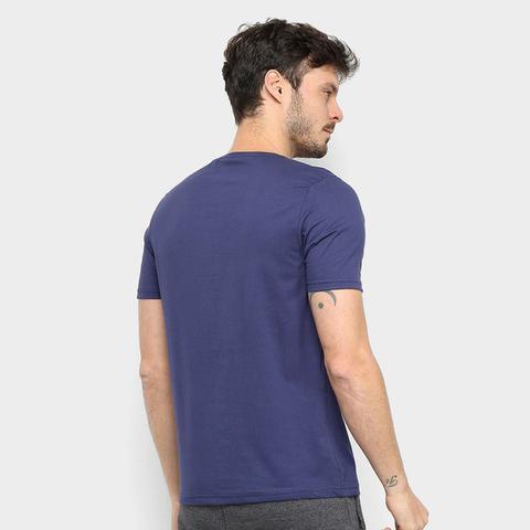 Imagem de Kit Camiseta Básica c/ 5 Peças Masculina