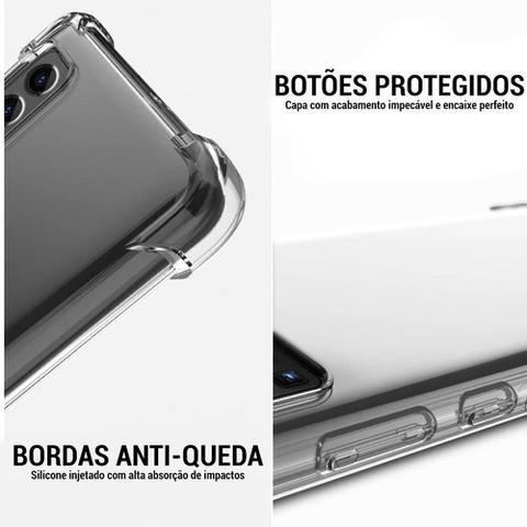 Imagem de Kit Capa Anti Impacto e Película Vidro 3D Temperado para Samsung Galaxy A32 4G