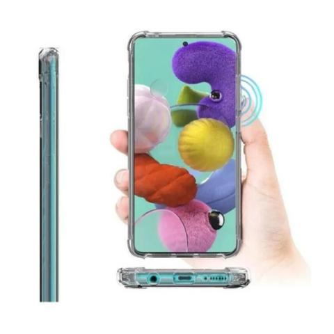 Imagem de Kit Capa Anti Impacto + Pelicula De Vidro para Samsung Galaxy S20 Fe
