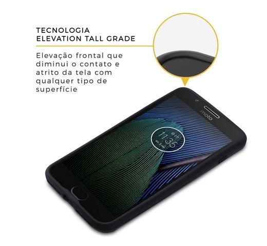052ff21eef Imagem de Kit Capa Armor e Pelicula de vidro dupla para Motorola Moto G5  Plus -