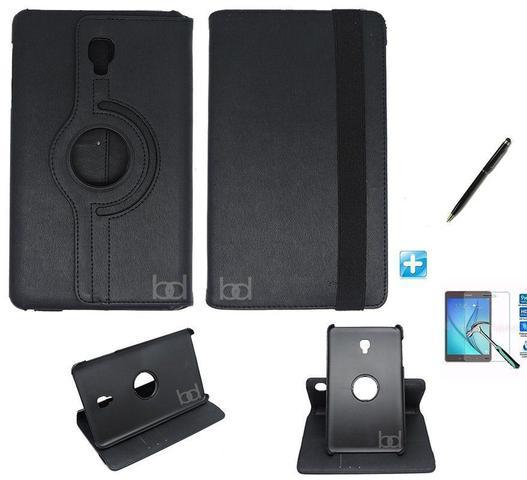 Imagem de Kit Capa Case Galaxy Tab S4 - Modelo T835 10,5 polegadas 360 / Can Touch + Pel Vidro (Preto)