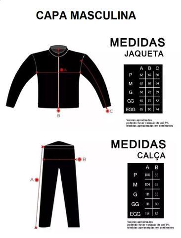 Imagem de Kit Capa de Chuva Delta Flex Com Capuz + Bota Motosafe PVC Motociclista