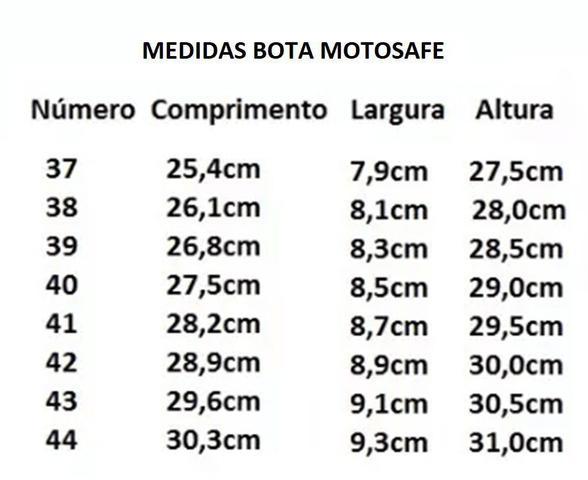 Imagem de Kit Capa de Chuva Pantaneiro + Bota Motosafe PVC Motociclista