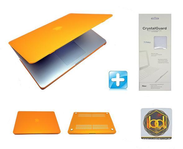 Imagem de Kit Capa Hardcase Macbook Pro Retina 13,3