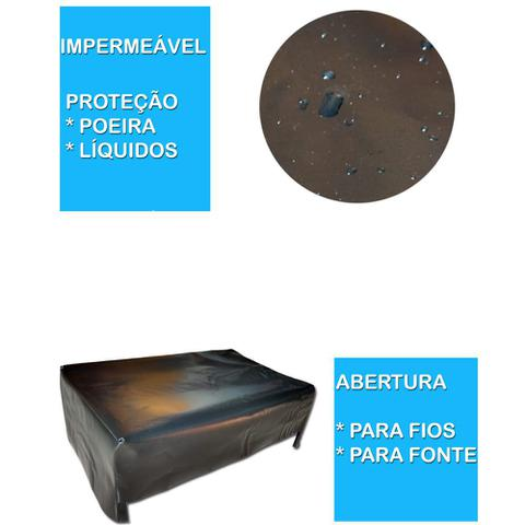 Imagem de Kit Capa Monitor 20 e Capa Impressora HP1115 Impermeável