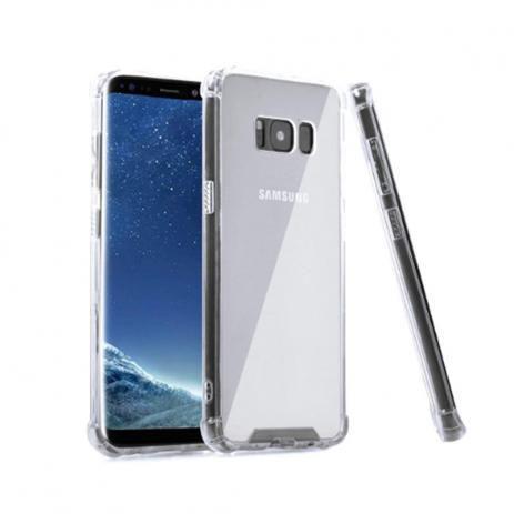 Imagem de Kit Capa Samsung Galaxy S8 Anti Shock + Película Protetora de Gel