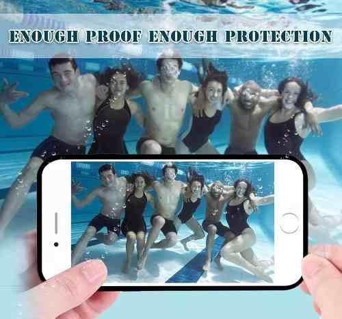 Imagem de Kit Capinha Case Prova D Agua Apple Iphone 6s 6 Plus 7 7plus
