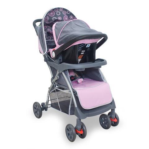 Imagem de Kit Carrinho E Bebê Conforto Travel System Baby Style