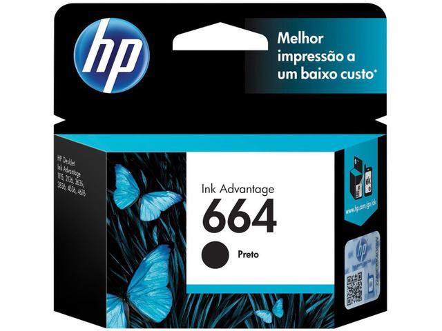 Imagem de Kit Cartucho de Tinta HP 664 2 Unidades Original