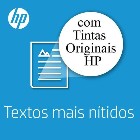Imagem de Kit Cartucho HP 60 Colorido Original + Cartucho HP 60 Preto Original