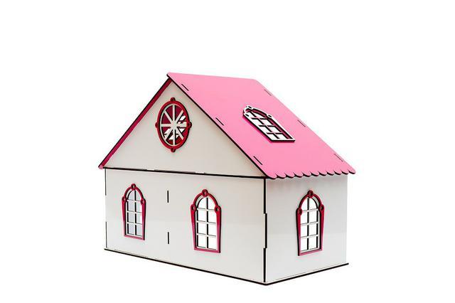 Imagem de Kit casa de bonecas lol com 20 moveis lily sonhos - darama