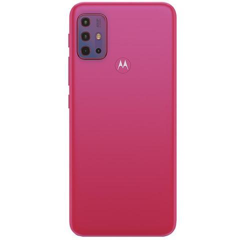 Imagem de Kit Celular Motorola Moto G20 Pink 64GB + Capa Triangle + Pelicula Y-Protection