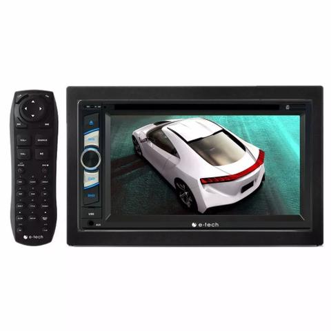 Imagem de Kit Central Multimidia Dvd Kwid + Moldura + Camera