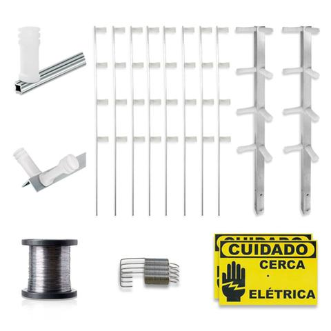 Imagem de Kit Cerca Elétrica Intelbras Haste Estrela 4 Isoladores 30 Metros