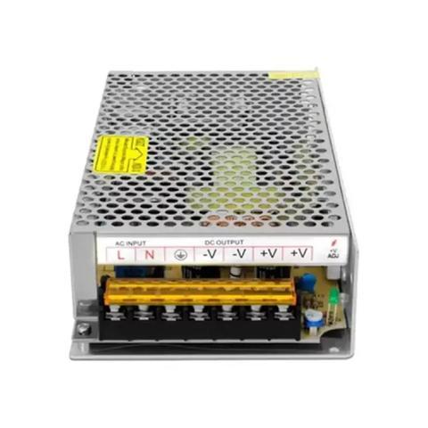Imagem de Kit Cftv 3 Câmeras Infravermelho Segurança 1mp 20m Dvr Full Hd 4 Ch S/ Hd c/ conectores Promo