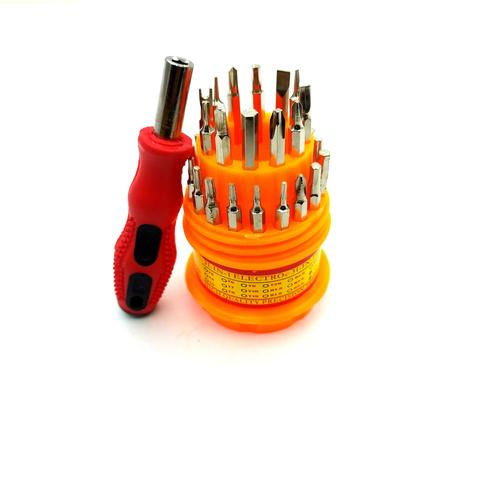 Imagem de Kit Chave de Precisão Jogo Copinho 30 Peças Ferramentas Torx T8 Alen Philips Fenda Para Celular Smartphone Óculos Relógi