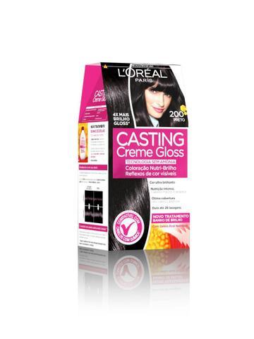 Imagem de Kit Coloração Casting 200 + Magic Retouch Preto L'Oréal