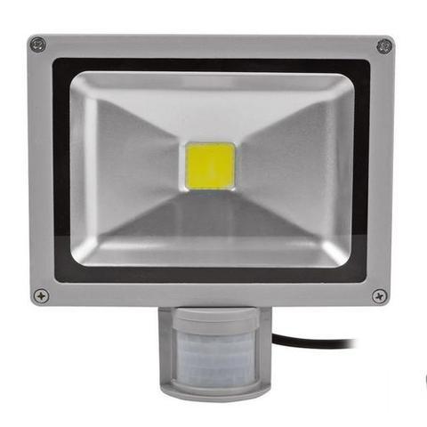 Imagem de Kit Com 05 Pecas - Holofote Refletor Super Led 30w Com Sensor De Movimento E Presenca Branco Frio Bivolt - A Prova Dagu
