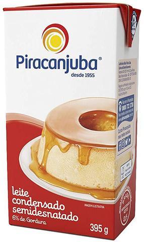 Imagem de Kit com 10 Leite Condensado Piracanjuba 395g